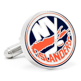 New York Islanders Cufflinks Novelty