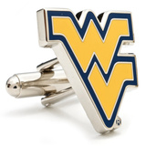 West Virginia University Cufflinks Novelty