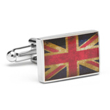 Vintage Union Jack Flag Cufflinks Novelty