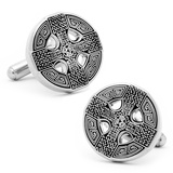 Celtic Cross Cufflinks Novelty