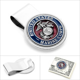 Enamel Marine Corp Money Clip Novelty