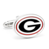 University of Georgia Bulldogs Cufflinks Novelty