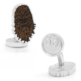 Star Wars Chewbacca Typography Cufflinks Novelty