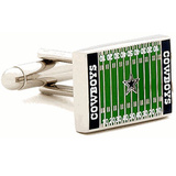 Dallas Cowboy's Field Cufflinks Novelty