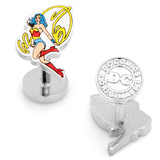 Wonder Woman Action Cufflinks Novelty