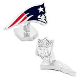 Palladium New England Patriots Cufflinks Novelty