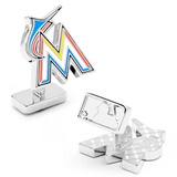 Palladium Miami Marlins Cufflinks Novelty