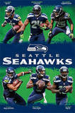 Seattle Seahawks Team Affiches