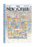 The New Yorker Cover - November 22, 1999 Regular Giclee Print by Roz Chast