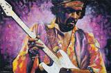 Stephen Fishwick Jimi Hendrix Poster