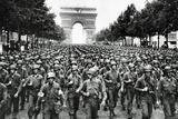 American Soldiers in Paris WWII Poster Prints