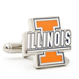 University of Illinois Fighting Illini Cufflinks Novelty