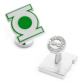 Green Lantern Symbol Cufflinks Novelty