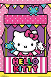 Hello Kitty - Puppets Cartoon Poster Prints