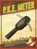 PKE Meter Ghostbusters Tech Prints