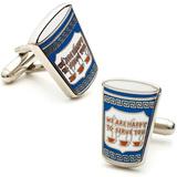 Greek Coffee Cufflinks Artículos de regalo