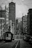 San Francisco Cable Car Hill Poster Print