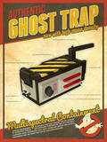 Ghost Trap Ghostbusters Tech Posters