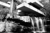 Frank Lloyd Wright Falling Waters Archival Photo Poster Prints by Frank Lloyd Wright