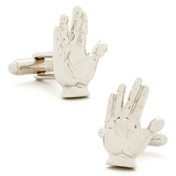 Live Long and Prosper Cufflinks Novelty