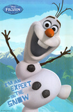 Disney Frozen - Olaf Poster