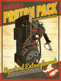 Proton Pack Ghostbusters Tech Prints