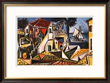 Paesaggio mediterraneo Poster di Pablo Picasso