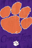 Clemson University Tigers Logo NCAA Posters