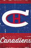 Montreal Canadiens Retro Logo Prints