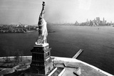 Statue of Liberty New York City Skyilne Poster Poster