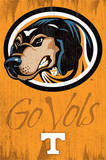 University of Tennessee Go Vols Logo NCAA Posters
