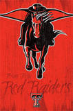 Texas Tech University Red Raiders Logo NCAA Photo