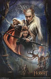 The Hobbit 2 Desolation of Smaug Group Afiche