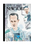 Bad Chemistry - The New Yorker Cover, September 30, 2013 Regular Giclee Print by Barry Blitt