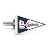 St. Louis Cardinals Pennant Cufflinks Novelty
