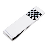 Onyx and MOP Checker Step Money Clip Novelty
