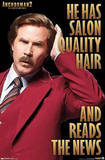 Anchorman 2 Hair Posters