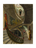 The Grand Staircase, Carlton House Giclee Print by R.g. Reeve