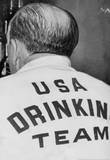 USA Drinking Team 1962 Archival Photo Poster Print Prints