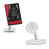 Darth Vader Pop Art Poster Cufflinks Novelty