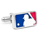 MLB Logo Cufflinks Novelty