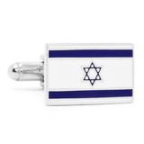Israel Flag Cufflinks Novelty