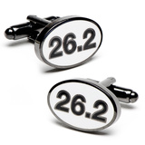 Marathon Finisher Cufflinks Artículos de regalo