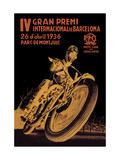 4th International Barcelona Grand Prix Metalldrucke