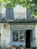 Shop in Sault, Provence, France Metal Print by Peter Adams