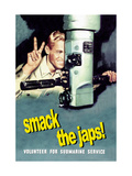 Smack the Japs! Metal Print