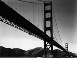 Golden Gate Bridge, 1938 Metal Print by Brett Weston