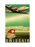 Airline Travel Poster Metal Print