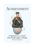 Achievement Metal Print