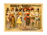Hurly-Burly Extravaganza and Refined Vaudeville Metal Print
